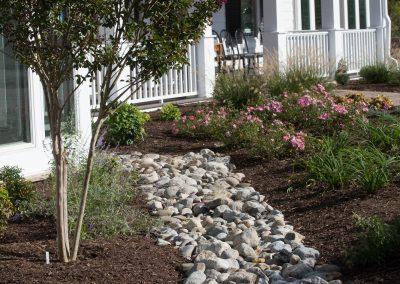 Yard drainage by Frederick Landscaping Maryland